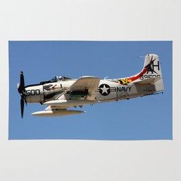 Douglas A-1 Sky Raider Fly-by Rug