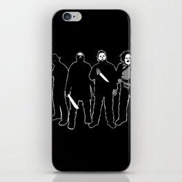 The Slashers! iPhone Skin