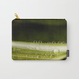 Garden Raindrops Carry-All Pouch