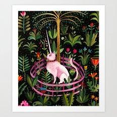 Unicorncat Art Print
