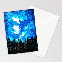 Moonlit Shadow Stationery Cards