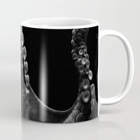 octopus Mugs featuring Octopus by Bella Blue Photography