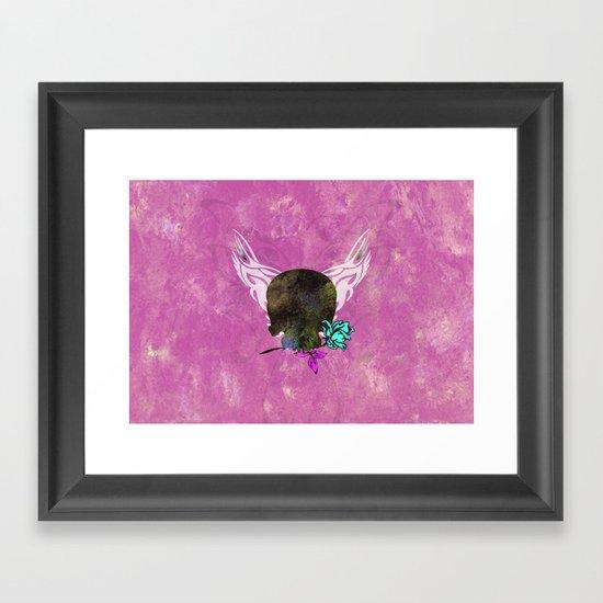 skull II Framed Art Print