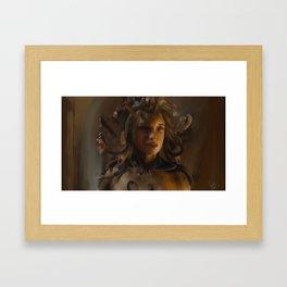 Clash of Titans: Medusa Framed Art Print