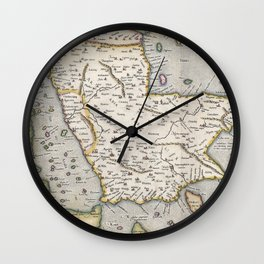 Middle East - Mercator - 1584 Wall Clock
