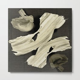 """Scandinavian Japanese Abstract"" Metal Print"