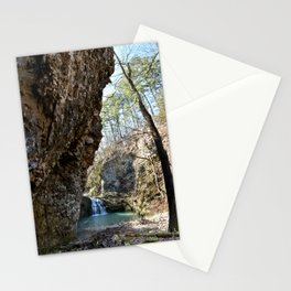 Alone in Secret Hollow with the Caves, Cascades, and Critters, No. 16 of 21 Stationery Cards