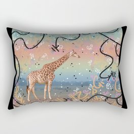 Great Little Giraffe Rectangular Pillow