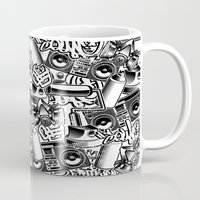 tool Mugs featuring Tool by squadcore