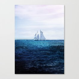 Sailing Ship on the Sea Canvas Print