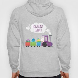 Egg Hunt Is On Funny Easter TShirt Hoody