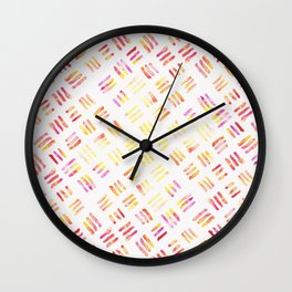 Day 004: Margot's Daily Pattern Wall Clock