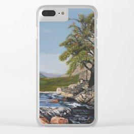 River Coe Scotland UK Clear iPhone Case