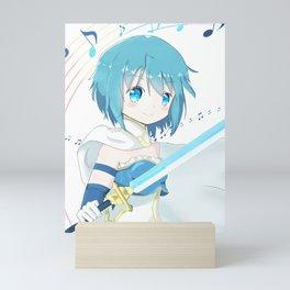 Sayaka Miki Madoka Magica Mini Art Print