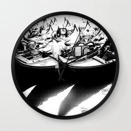 Gondole (Monochrome) Wall Clock