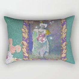 Steampunk Circus Girl Rectangular Pillow