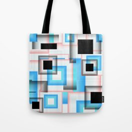 Abstract Square 7 Tote Bag