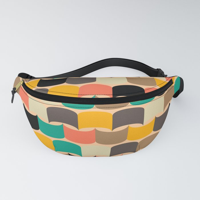 Retro abstract pattern Fanny Pack