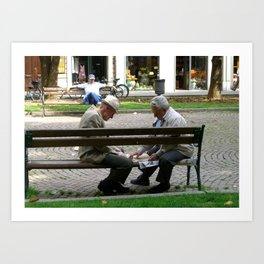 t(w)ogether in Bologna Art Print
