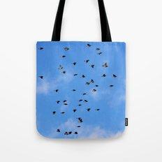 In Flight Tote Bag