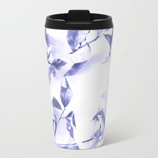 Bay leaves 3 Metal Travel Mug
