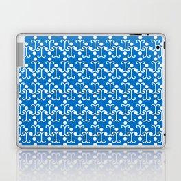 Lattice Pattern (Blue) Laptop & iPad Skin