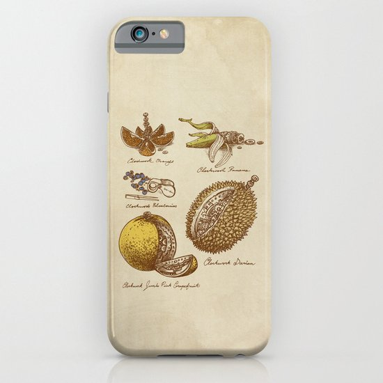 Steampunk Fruit  iPhone & iPod Case