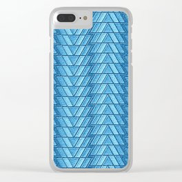Geometrix 130 Clear iPhone Case