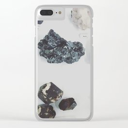 Earth Healer Clear iPhone Case