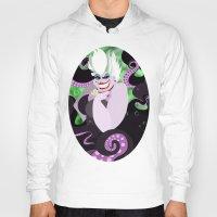 ursula Hoodies featuring Ursula by Karrashi