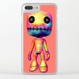 Voodoo Doll Clear iPhone Case