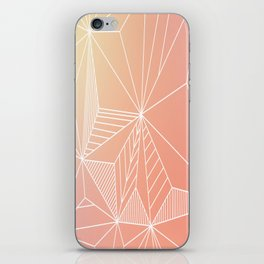 Paradise Geo Blush iPhone Skin