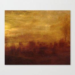 NUCLEAR FIRE Canvas Print