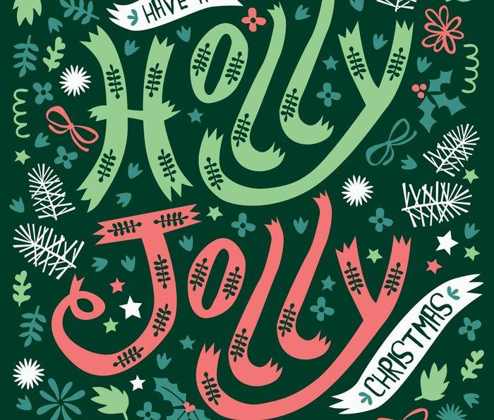 Have a Holly Jolly Christmas  Metal Travel Mug