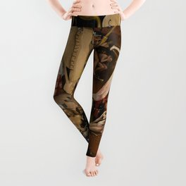 Visions of Hell by Heironymus Bosch Leggings