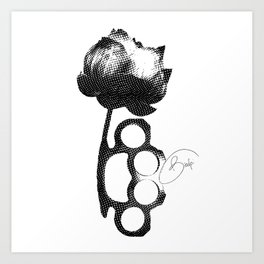 knuckles Art Print