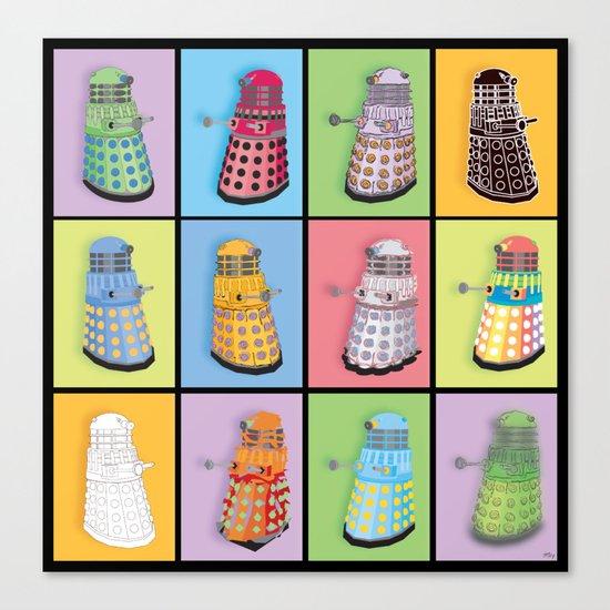 Dalek Dreams Canvas Print