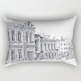 Old street Rectangular Pillow