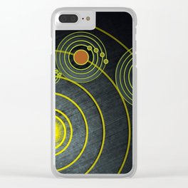 GOLDEN RECORD Clear iPhone Case