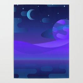 Otherworldly Scenery Poster