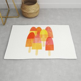 Ice Lollies and Popsicles Rug