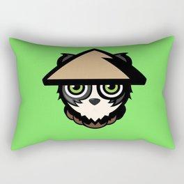 Bamboo panda Rectangular Pillow