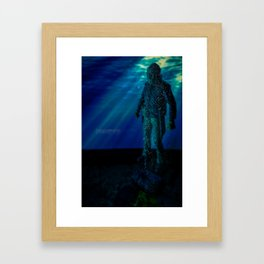 Only way to kill Jason is to send him back to his original resting place where he drowned in 1957... Framed Art Print