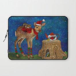 Christmas Tea Party Laptop Sleeve
