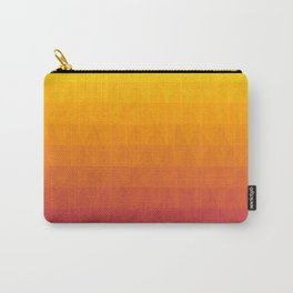 Pink and Yellow Ombre Carry-All Pouch
