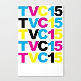 TVC15 CMYK Canvas Print