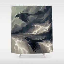 Stormbringers Shower Curtain