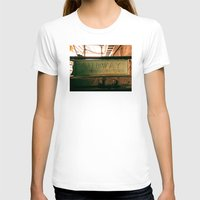 subway T-shirts featuring Subway by Kimball Gray