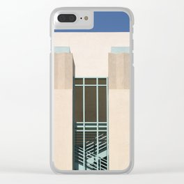 Stairs Tower Clear iPhone Case