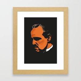 Vito Corleone - The Godfather Part I Framed Art Print